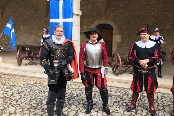 Un documentaire est tourné au château de Virieu, en Isère, sur le duc de Lesdiguières.