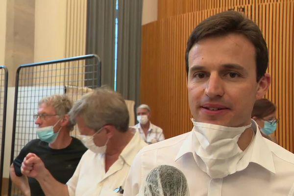 A Belley : Dimitri Lahuerta est élu