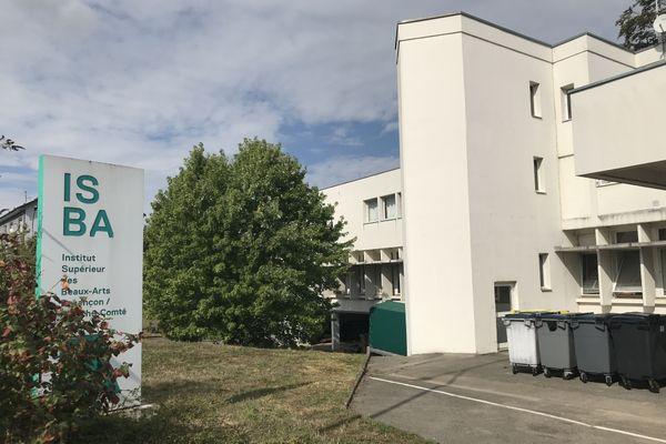 L'ISBA, Institut Supérieur des Beaux-Arts de Besançon.