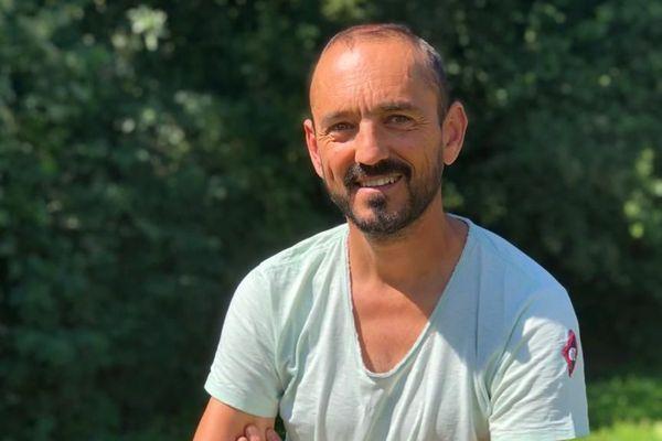 Fabrice Huré, à Montgermont. Juillet 2019
