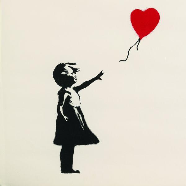 La petite fille au ballon (Girl with balloon 2004-2005)