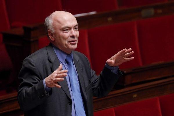 Marc le Fur (UMP) sur les bancs de l'Assemblée Nationale