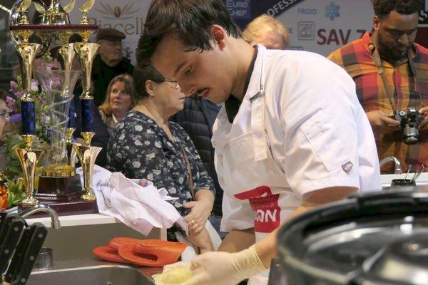 Léon Bordet de Dijon, gagnant du concours Bernard Loiseau 2018