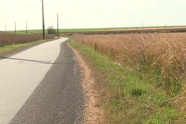 Une bande de 2 m sans traitement est désormais imposée entre la route et les champs.