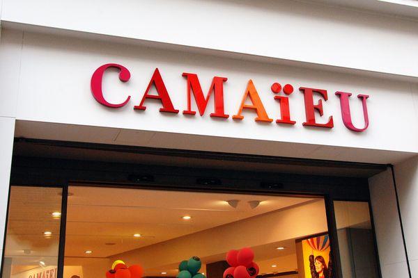 Un magasin Camaïeu