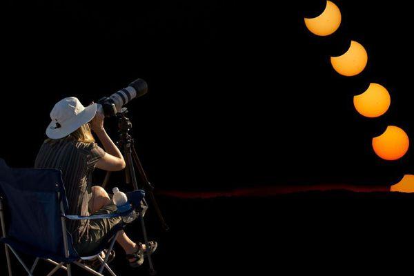 Une éclipse solaire partielle sera visible en France, le 20 mars 2015.
