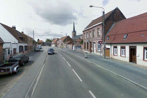 Rue du Noir-Debout à Auchy-lez-Orchies