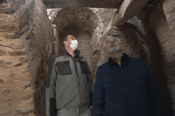 Dans le dôme du clocher de Collioure