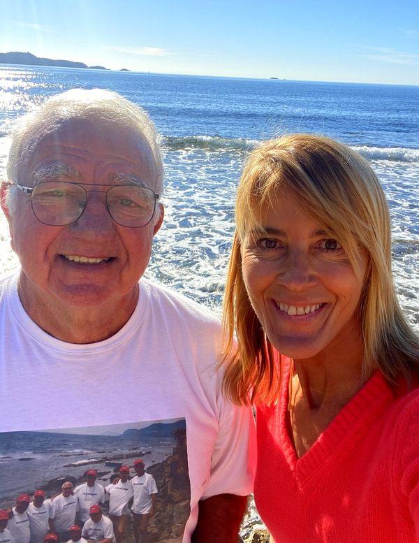 Gilbert et Nathalie dans le port de Cabro avant la dégustation d'une soupe de poissons de roche. C'est à voir dans Chroniques Méditerranéennes à Carqueiranne, ce dimanche 11 avril à 12h55.