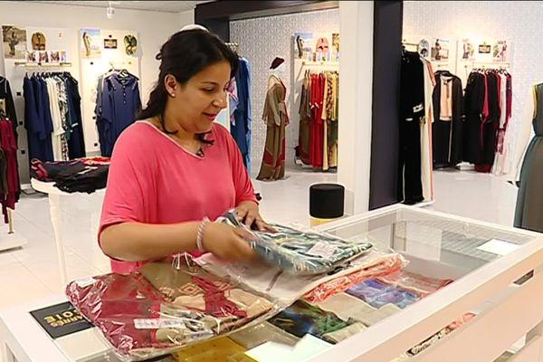 Bouchra Alioui dirige depuis juin dernier la première boutique de Diamantine en France.