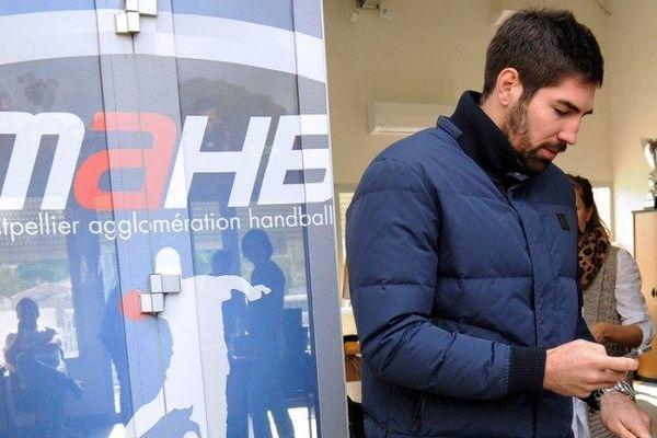 Nikola Karabatic convoqué au siège du MAHB - 30 octobre 2012.