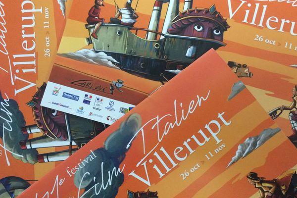 L'affiche de la 41ème édition du Festival du Film Italien de Villerupt