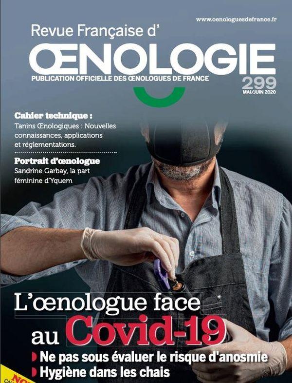 La revue française d'oenologie a consacré un numéro spécial sur le Covid et l'oenologie.