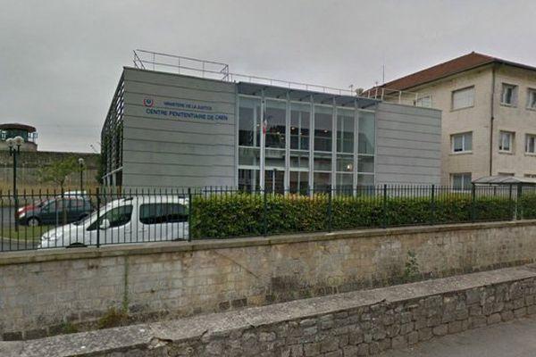 Le quartier de semi-liberté se trouve dans l'enceinte du centre de détention de Caen