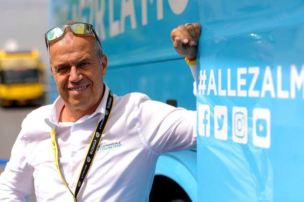 Vincent Lavenu, manager général de l'équipe cycliste AG2R la Mondiale