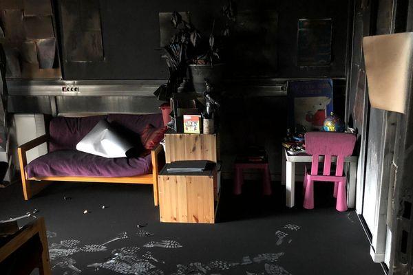 Les locaux de l'association grenobloise Solidarité femmes Miléna avaient été incendiés en décembre.