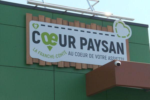 """Le """"supermarché"""" de producteurs a ouvert le 22 juillet dernier, à Sochaux"""