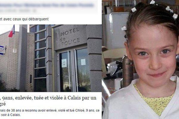 Le titre d'un article de France 3 Nord Pas-de-Calais modifié par des internautes sur Facebook pour stigmatiser les immigrés.
