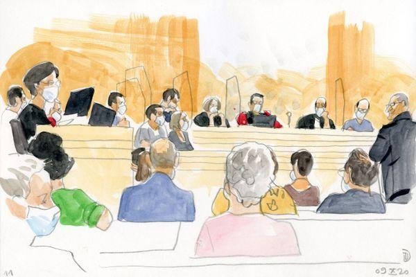 Le procès de Guerric Jehanno se tient depuis 4 jours devant les assises du Tarn, à Albi.
