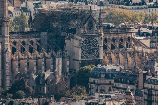 La cathédrale Notre-Dame a été fortement endommagée par un incendie lundi 15 avril 2019.
