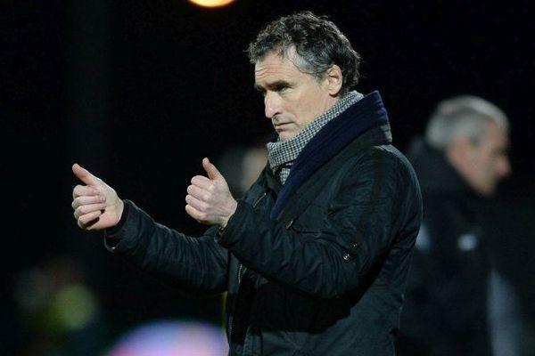Olivier Dall' Oglio, l'entraîneur du club de football de Dijon