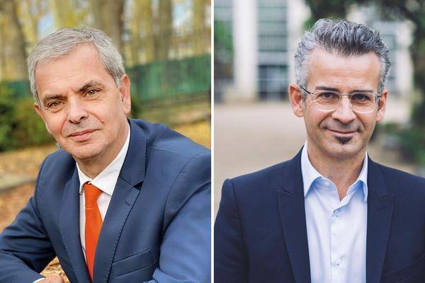 Christophe Bouchet (Radical)et Emmanuel Denis (EELV)