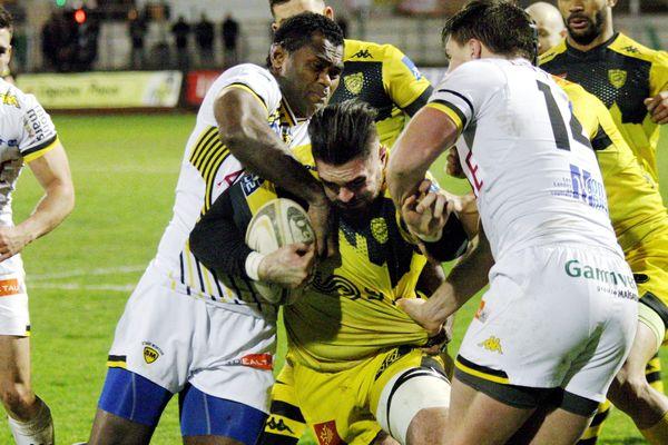 Carcassonne n'a pas réussi à faire face à Mont-de-Marsan ce vendredi 12 janvier.
