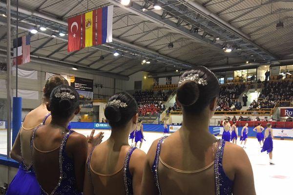 L'équipe Skyliners de New-York lors de la French Cup 2019 à Rouen.