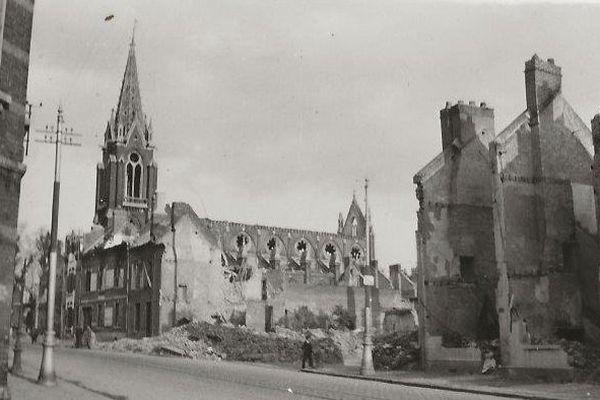 Église et chaussée Saint-Pierre