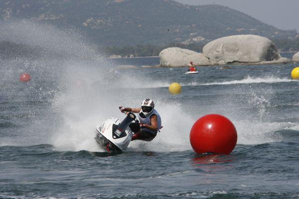 ILLUSTRATION. Championnat du monde de jet ski à Porto-Vecchio en 2009.