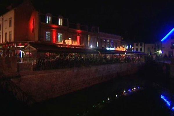 Quartier Saint-Leu à Amiens.