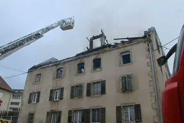 Une cinquantaine de pompiers ont été mobilisés.