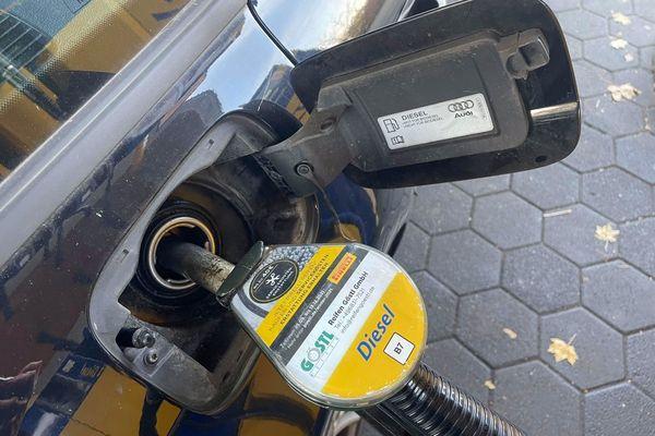 Le prix des carburants s'est envolé aussi en Allemagne et au Luxembourg.