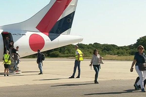 Le tarmac de l'aéroport de Lorient (56)