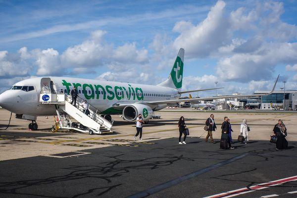 Transavia, compagnie à bas prix, filiale d'Air France - KLM s'installe à Montpellier. Le premier vol est prévu pour le 3 avril 2020.