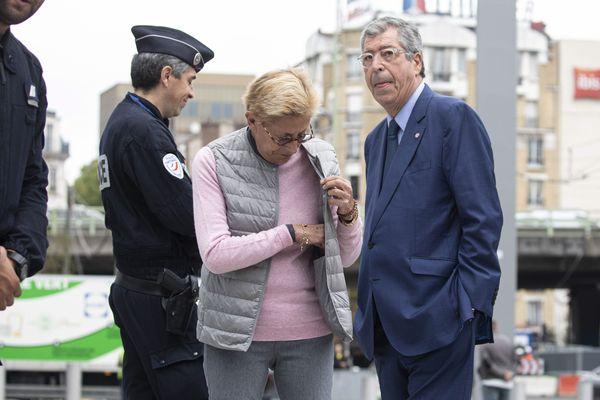 Le couple Balkany attendent le rendu du verdict du Tribunal de Grande Instance de Paris, le 13 septembre 2019.