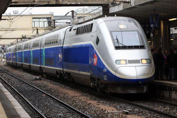 Une rame TGV Duplex (illustration)