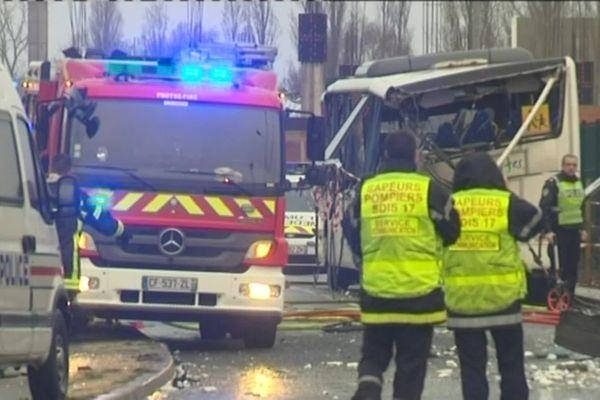 L'accident du bus scolaire avait fait six jeunes victimes en 2016 à Rochefort (Charente-Maritime).