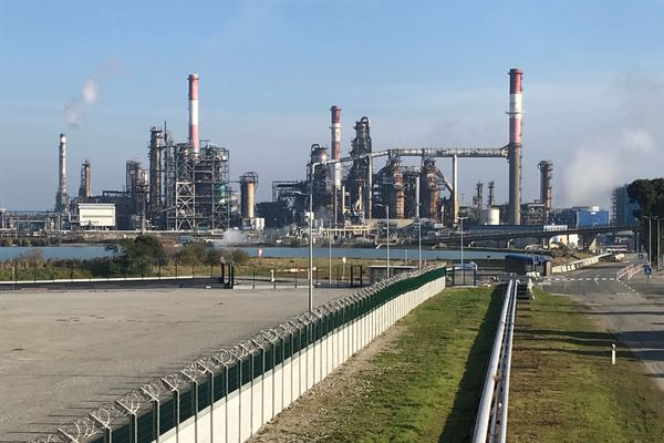 Raffinerie de Donges, 30 novembre 2020