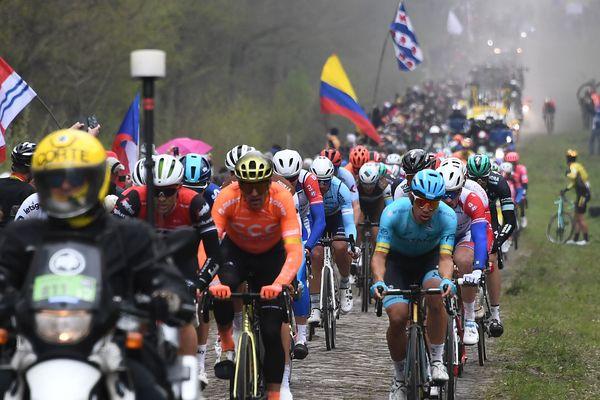 La tranchée d'Arenberg sur Paris-Roubaix 2019