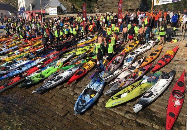 Nageurs et kayakistes prêts pour le défi des Courreaux