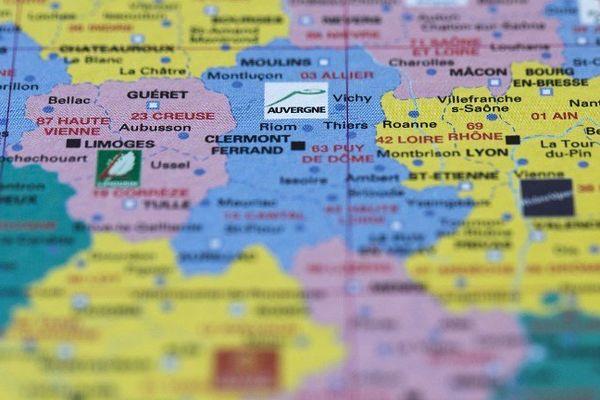 Carte de France (Photo d'illustration)