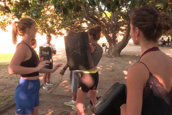 Au total, une dizaine de femmes ont participé à ce premier cours organisé à Montpellier - 20.07.20