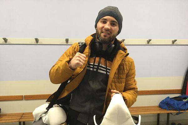 David Papot a fait son sac, il est parti ce mardi pour New York et combattra samedi dans le Connecticut