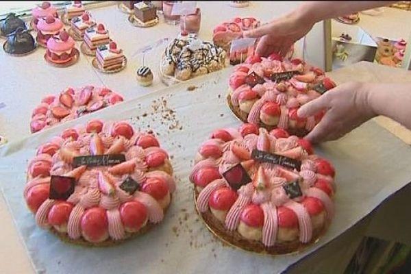 Vesoul : les pâtissiers fêtent les mamans