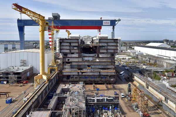 """Giuseppe Bono, le patron de Fincantieri, veut rebapstiser STX Saint-Nazaire """"Les chantiers de l'Atlantique"""""""
