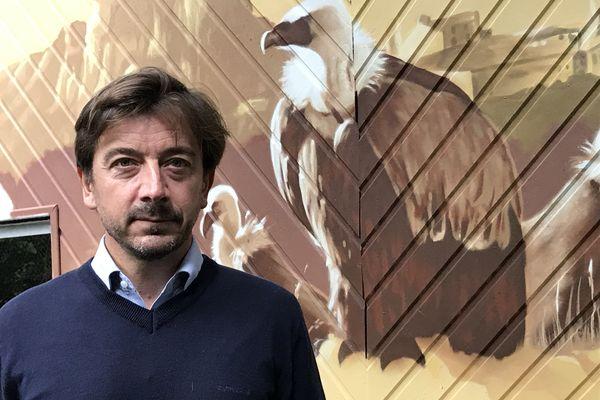 Hugues Lemercier, directeur du Refuge de l'Arche à Château-Gontier-sur-Mayenne