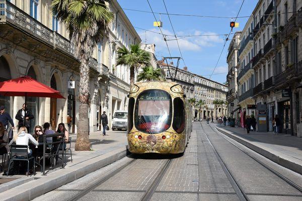 Sa victime avait réussi à le prendre en photo. A Montpellier, un homme a été interpellé par la police pour agression sexuelle dans le tramway.(illustration)