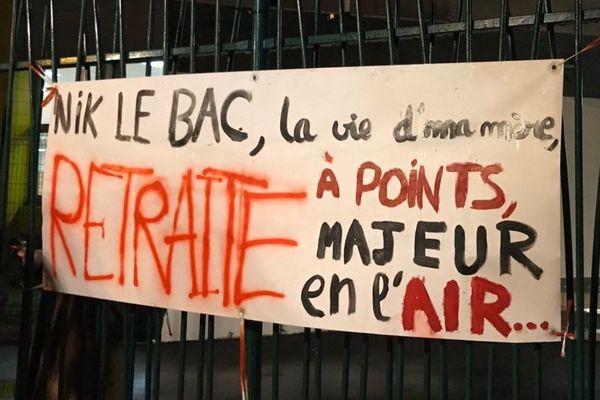 Le lycée Jean Perrin à Rezé bloqué le 9 janvier 2020
