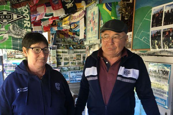 Martine et Alain, une vie dédiée aux Girondins